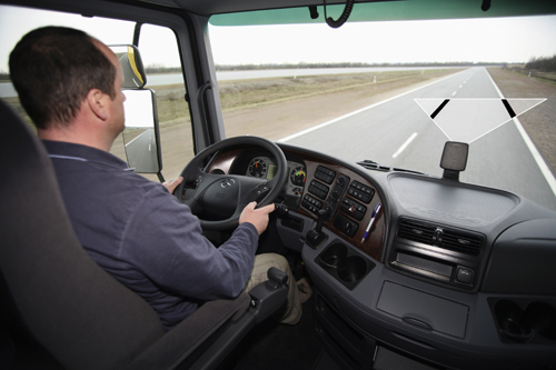 Mercedes-Benz Telligent Lane Assistent